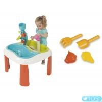 Водный Столик и Песочница 2 в 1 Smoby