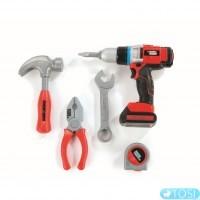 Набор инструментов в сумке игрушечных Black & Decker Smoby