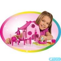 Дом на пристани с лошадью Filly Elfy Simba
