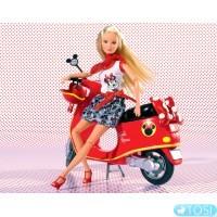Кукла на Скутере Steffi Minniе Mouse Simba