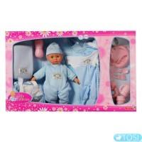Кукольный набор Simba Пупс с аксессуарами. и сменной одеждой, 30 см, 2 вида