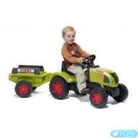 Педальный Трактор с Прицепом Claas Ares FALK