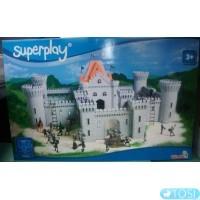 Игровой набор Средневековый Замок с аксессуарами Superplay Zamek Simba
