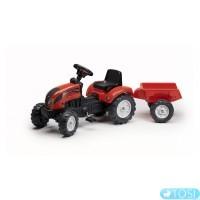 Педальный Трактор с Прицепом Lander Falk