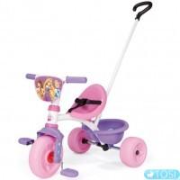 Велосипед трехколесный Принцесса Диснея Be Move Princess Smoby