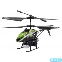 Вертолёт 3-к микро и/к WL Toys V757 BUBBLE мыльные пузыри (зелёный)