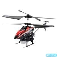 Вертолёт 3-к микро и/к WL Toys V757 BUBBLE мыльные пузыри (красный)