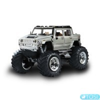 Джип микро р/у 1:43 Hummer (серый) Great Wall Toys