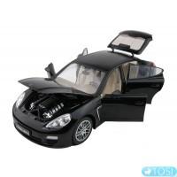 Машинка р/у 1:18 Meizhi лиценз. Porsche Panamera металлическая (черный)