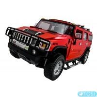 Машинка р/у 1:14 Meizhi лиценз. Hummer H2 (красный)