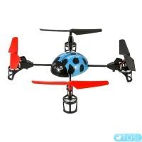 Квадрокоптер 2.4Ghz WL Toys V929 Beetle (синий)