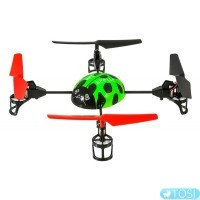 Квадрокоптер 2.4Ghz WL Toys V929 Beetle (зелений)