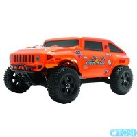 Хаммер 1:18 Himoto Mini Hummer E18HM Brushed (оранжевый)