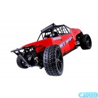 Багги 1:10 Himoto Dirt Whip E10DB Brushed (красный)
