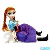 Кукла Beatrice Анна (Холодное седце) 45 см