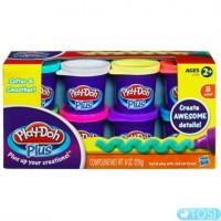 Play-Doh Набор из 8 баночек пластилина Плей До Плюс