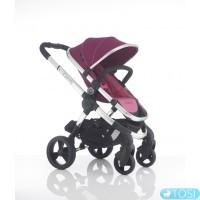 Прогулочная коляска iCandy PEACH 3 FUCHSIA + люлька, цвет розовый