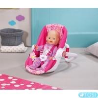 Автокресло для куклы Baby Born Zapf Creation