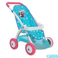 Прогулочная коляска для куклы Smoby Frozen 254045