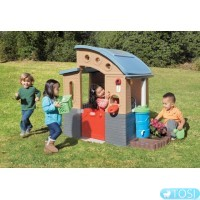 Детский эко - домик Go Green Playhouse Little Tikes 640216M