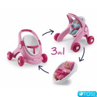 Детские ходунки–коляска Smoby Minikiss 210205