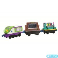 Паровозик Chuggington  Коко в новом наряде
