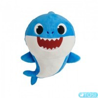 Інтерактивна м'яка іграшка BABY SHARK Татог Акуленятка, 30 см