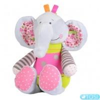 Мягкая игрушка BabyOno Слоник 30 см