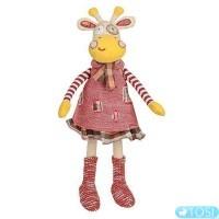 Мягкая игрушка BabyOno Жирафка в платьице