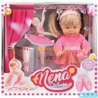Говорящая кукла Bambolina Нена Маленькая балерина