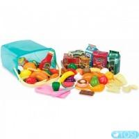 Ігровий набір Battat Кошик з продуктами