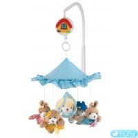 Карусель плюшевая Canpol babies Звери под зонтиком