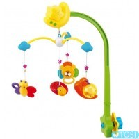 Карусель пластиковая Canpol babies Весенний луг