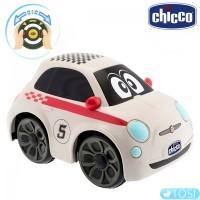 Машинка с интерактивным рулем Chicco Fiat 500 Sport