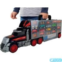 Игровой набор Dickie Toys Трейлер перевозчик авто 3749023