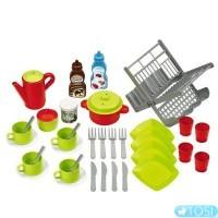 Кухня-магазин  Ecoiffier Chef-Cook с продуктами и посудой, 22 аксес