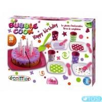 Набор посуды Ecoiffier С Днем Рождения