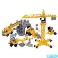 Конструктор Строительство в коробке 86 деталей Ecoiffier
