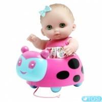 Пупc Биби на машинке JC Toys 22 см