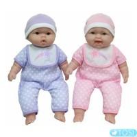 Пупсы-двойняшки JC Toys 33 см