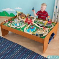 Железная дорога KidKraft Ride Around TownTrain Table Set