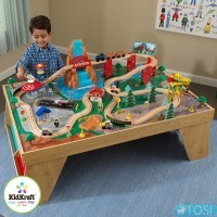 Железная дорога KidKraft Train Set and Table 18001
