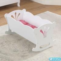 Кроватка-люлька для куклы KidKraft Doll Cradle 60101
