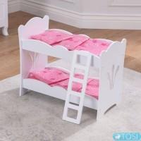 Двухъярусная кровать для кукол KidKraft Lil' Doll 60130