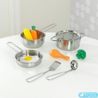 Игровой набор посуды и еды KidKraft 63186