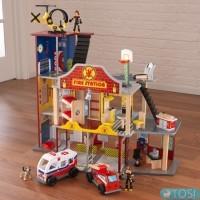 Пожарная станция KidKraft Deluxe Fire Rescue 63214