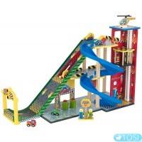 Трехуровневый гараж KidKraft Mega Ramp Racing Set 63267