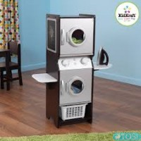 Детская прачечная KidKraft Laundry Play Set Espresso