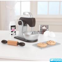 Миксер с аксессуарами Kidkraft Baking Set Espresso 63370
