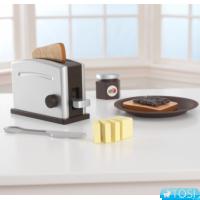 Тостер Kidkraft Toaster Set Espresso 63373
